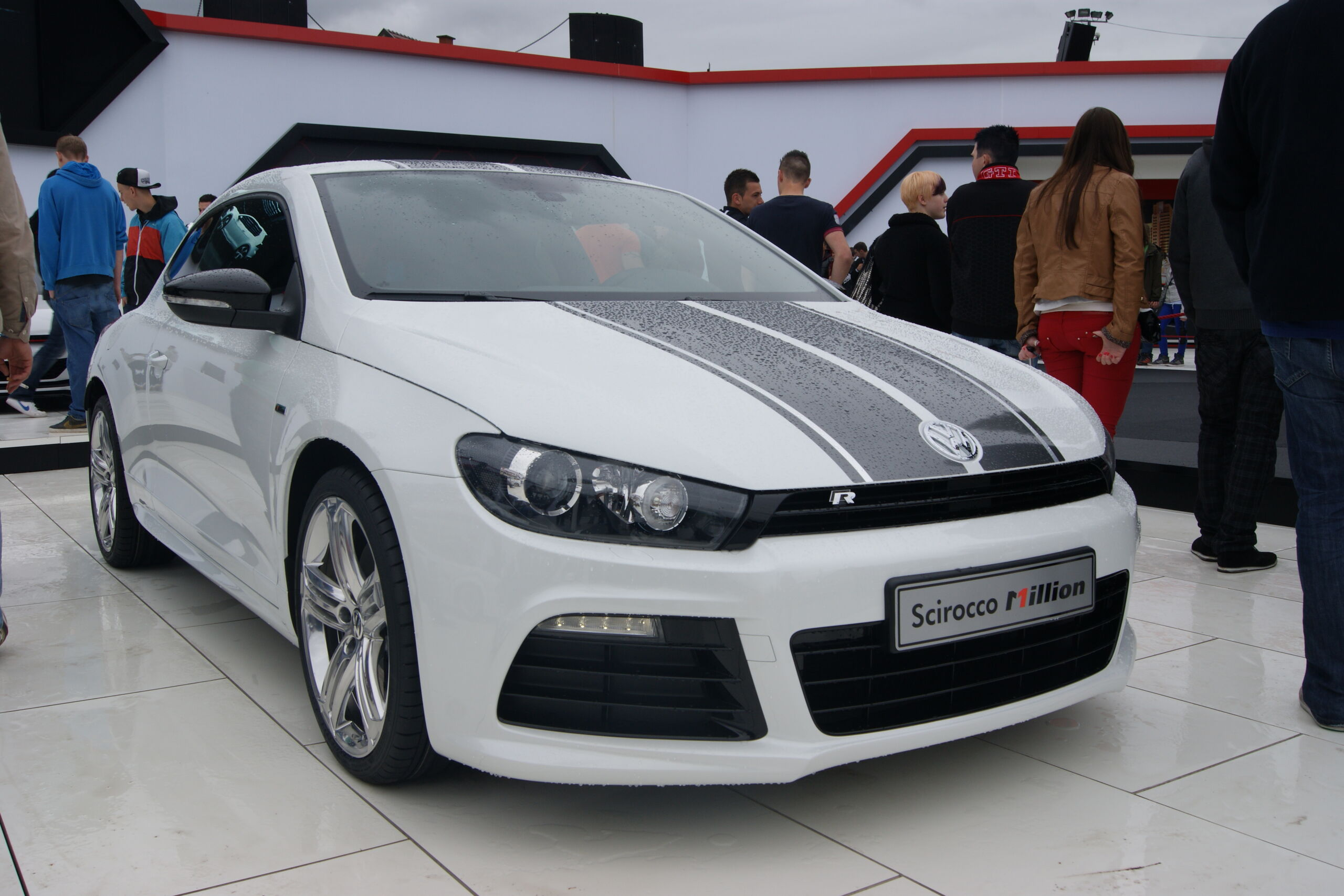 vw volkswagen scirocco million