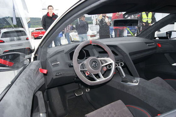 vw volkswagen golf gti innen interieur