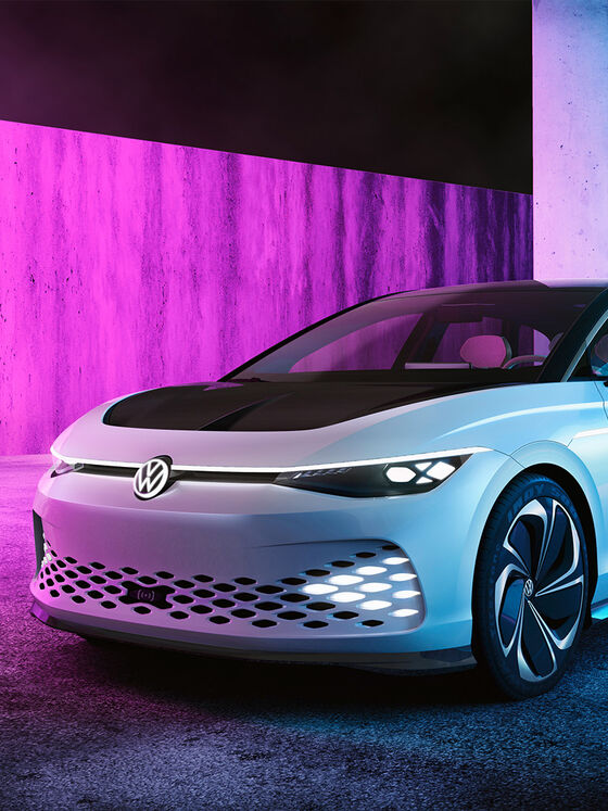 VW ID. Space Vizzion Elektroauto Studie